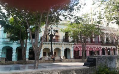 Przepiękny Plac Prado i kilka słów od Eduardo :)