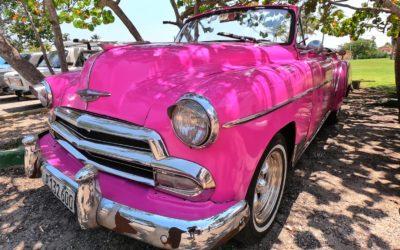 Cuban motoring craze