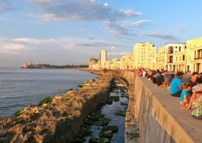 Malecon w Hawanie